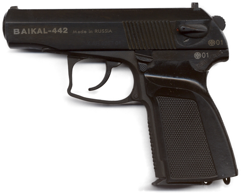 Pistol Makarov Modified 9 mm PMM