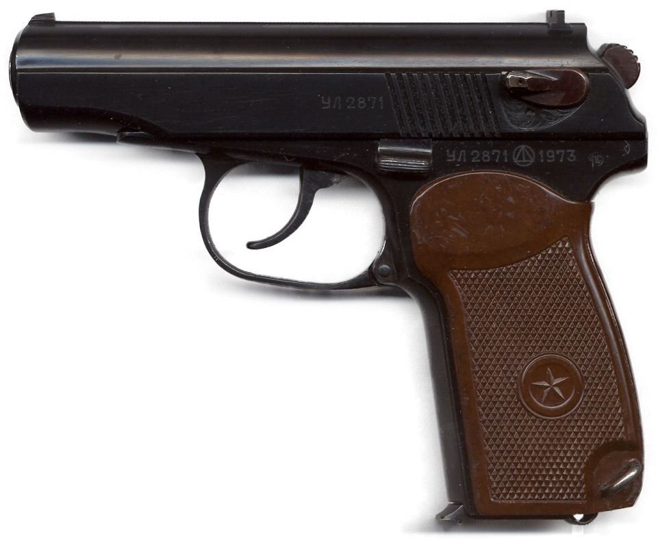 Pistol Makarov 9 mm PM